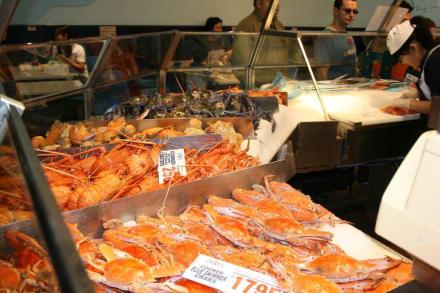 Stand auf dem Sydney Fish Market - Sydney Fish Market