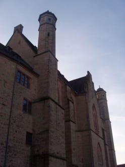 Nordwand - Landgrafenschloss Marburg