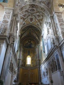Deckenverzierung - Kathedrale von Cefalù