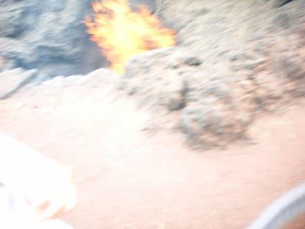 Timanfaya, Experiment mit dem Feuer - Nationalpark Timanfaya (Feuerberge)