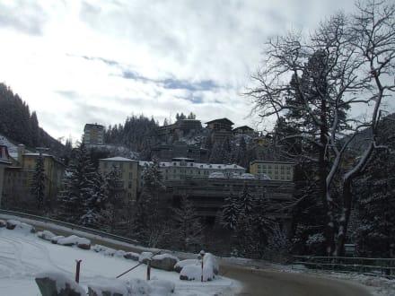 Blick auf das Stadtzentrum von Bad Gastein - Bad Gastein