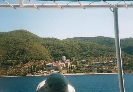 Kloster auf (Berg) Athos / Chalkidiki / Griechenland - Kloster Moni Dochiariou