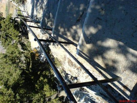 Die Treppen... - Tsambika-Berg