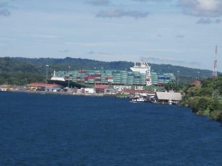 Panamakanal von Gatun-See - Panamakanal
