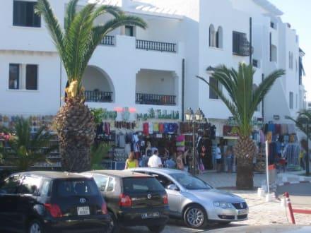 Hafen und Einkaufsmeile - Yachthafen Port el Kantaoui