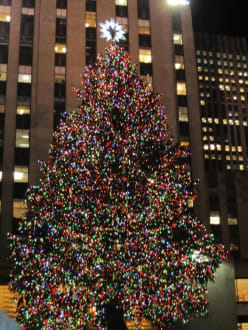rockefeller center bild weihnachtsbaum am rockefeller. Black Bedroom Furniture Sets. Home Design Ideas