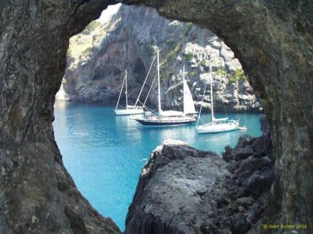 Torrent de Parais, Mallorca - Bucht Sa Calobra / Torrent de Pareis