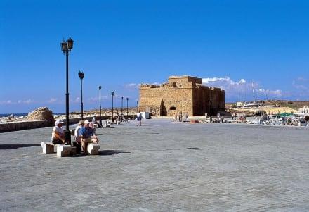 Paphos Hafen mit Burg - Hafen Paphos