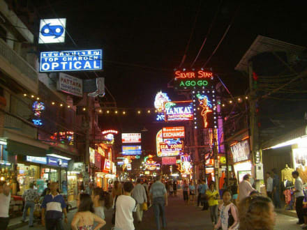 Abends in Pattaya2 - Pattaya Walking Street