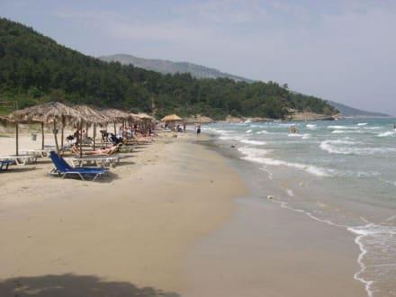 Toller Strand auf Thassos - Paradise Beach