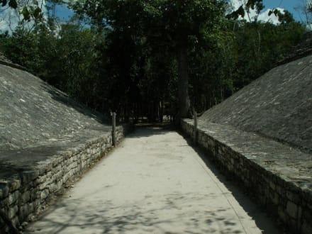 Ballspielplatz - Ruinenstätte Cobá