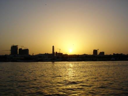 Sonnenuntergang - Dubai Creek