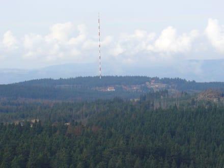 Blick auf Torfhaus - Wanderung Brocken