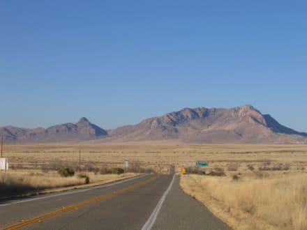 Landschaft außerhalb des Chiricahua NM - Chiricahua National Monument