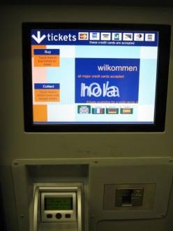 Ticketschalter für den Stransted Express Train - Transport