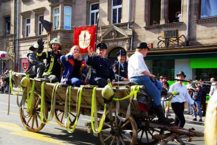Freiwillige Feuerwehr Ronhof/Kronach - Erntedankfestzug Fürth