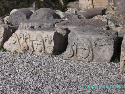 Eingangsbereich - Lykische Felsengräber von Fethiye