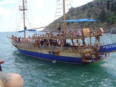 Bootausflug mit Badepause - Bootstour Alanya