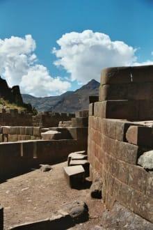 Ruinen von Pisac - Inka Ruine Pisac