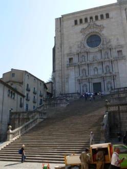Kathedrale - Altstadt Girona/Gerona