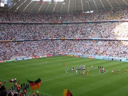 FIFA-WM Deutschland-Schweden - Allianz-Arena