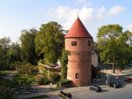 Lübzer Stadkern - Alter Amtsturm