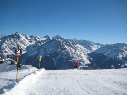 Berg/Vulkan/Gebirge - Skigebiet Sölden