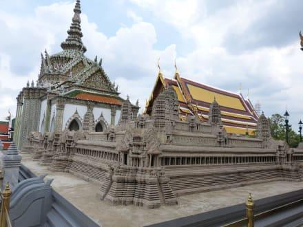 Modell von Angkor Wat - Wat Phra Keo und Königspalast / Grand Palace