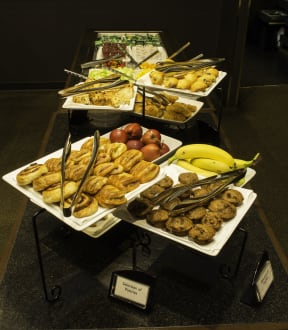 Full Hot Buffet Breakfast -