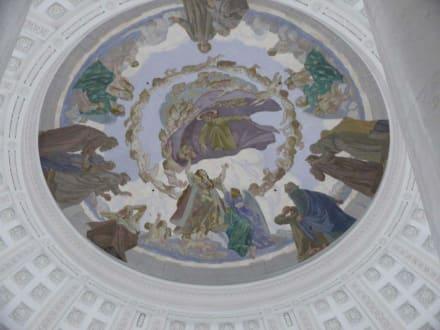 Schöne Deckenmalerei - Dom von St. Blasien