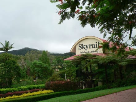 Kuranda-Station der Skyrail Rainforest Cableway - Skyrail Rainforest Cableway