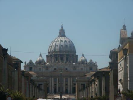 Blick auf den Petersdom - Petersdom