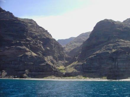Versteckte Badebuchten - Ausflüge Schifffahrt Bussard Tazacorte