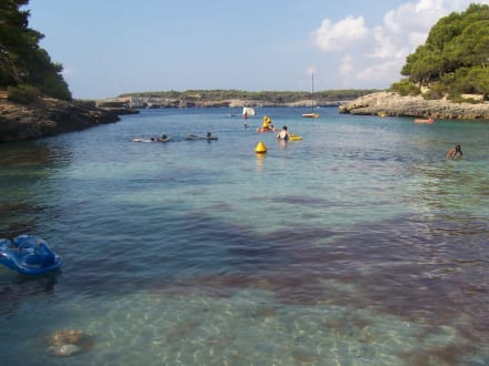 Hoteleigene Bucht - Cala sa Barca