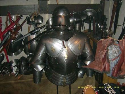 Ritterrüstung - Mittelalterlicher Weihnachtsmarkt Telgte