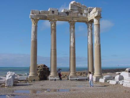 Sehenswürdigkeiten in Side - Apollon Tempel