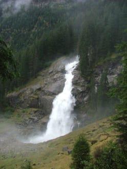 390 m Wasserfälle - Krimmler Wasserfälle