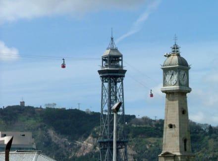 Seilbahn über den Hafen von Barcelona - Hafenseilbahn Barcelona