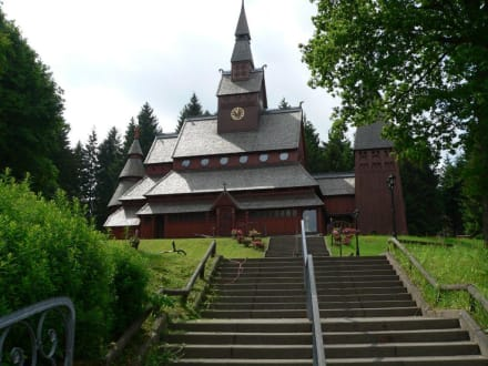Tempel/Kirche/Grabmal - Stabkirche - Gustav Adolf Kirche