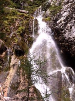 Wasserfall in der Klamm - Klamm