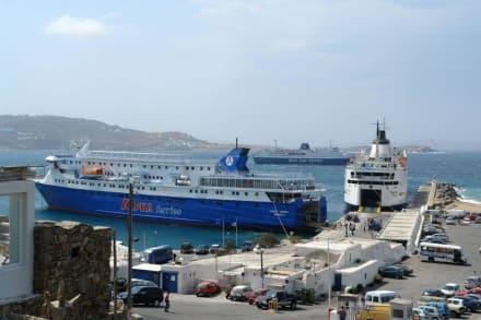 Hafen - Hafen Mykonos Stadt