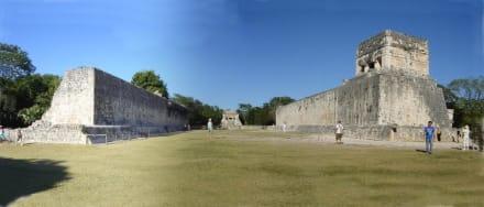 Chichen Itza Ballspielplatz - Ruine Chichén Itzá