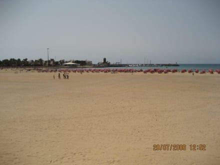 Strand von Costa del Fuste - Strand Playa del Castillo