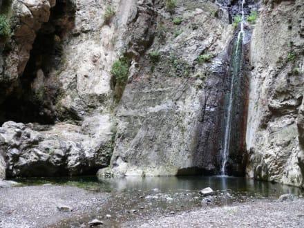 La Cascada - Wasserfälle - Barranco del Infierno