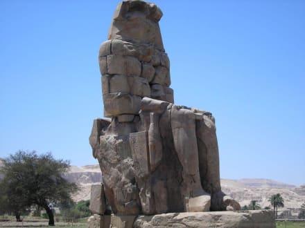 Memnonkoloss - Kolosse von Memnon
