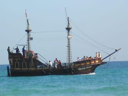 Schiffsausflug - Piratenfahrt