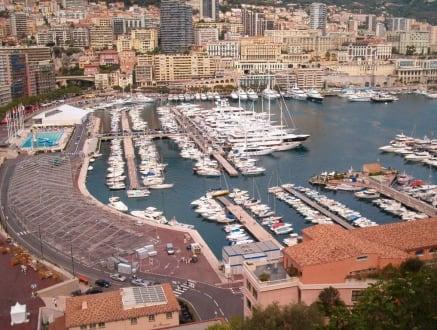 Hafen von Monaco - Yachthafen Monaco