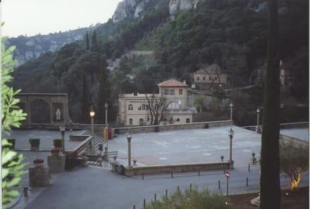 Kloster Montserrat/ Barcelona/ Spanien - Kloster von Montserrat