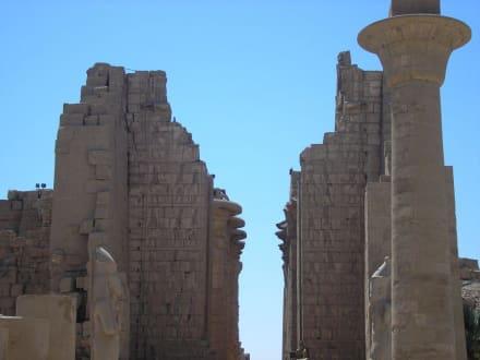 Säulen - Amonstempel Karnak