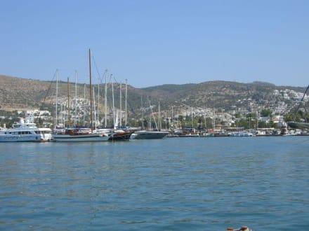 Hafen von Bodrum - Yachthafen Bodrum
